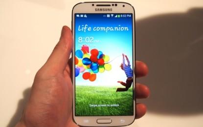 เปิดตัวแล้ว samsung Galaxy S 4