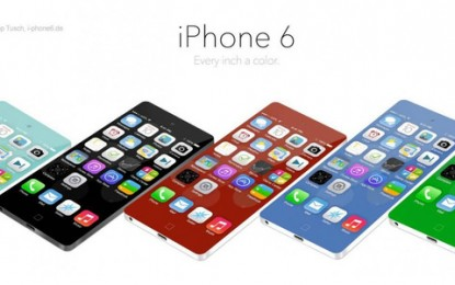 concept Iphone6  กับความเปลี่ยนแปลงในอนาคต