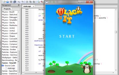 รู้จักกับโปรแกรมสร้างเกมส์สำหรับมือถือ Mobile game engine