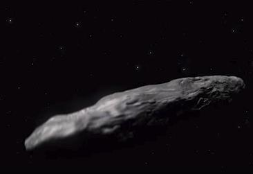 ทีมนักดาราศาสตร์ที่ฮาวายได้ค้นพบวัตถุประหลาดซึ่งมาจากระบบกาแลคซี่อื่น สันนิษฐานว่าอาจเป็นยานอวกาศของต่างดาว